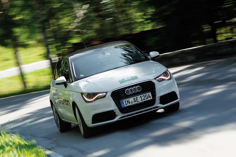 audi a1 e tron wins silvretta electric car rally apex the burnpavement blog. Black Bedroom Furniture Sets. Home Design Ideas